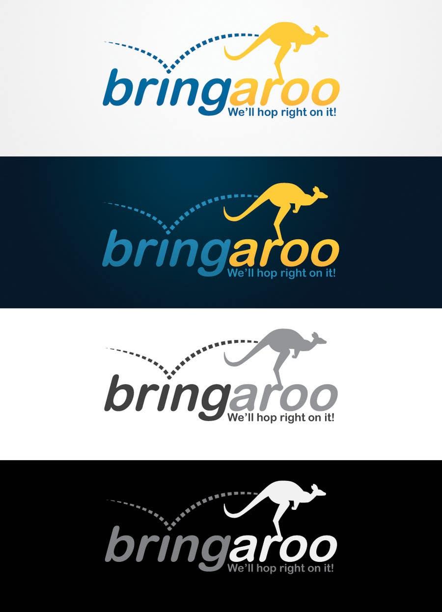 #297 for Logo Design for Bringaroo by bendstrawdesign