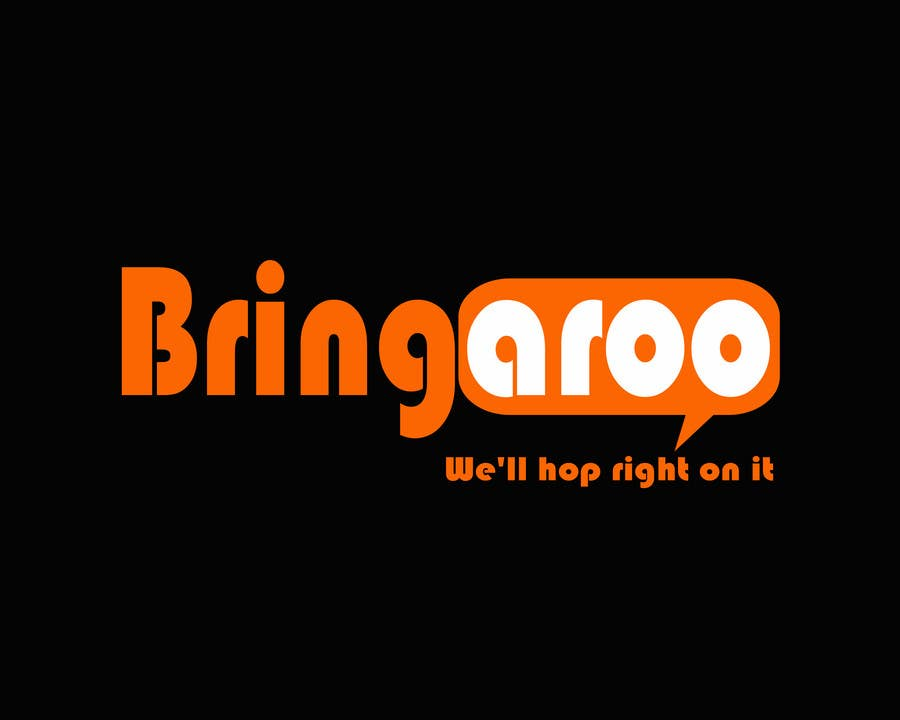 #309 for Logo Design for Bringaroo by firdausdesign