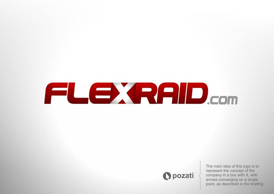 Penyertaan Peraduan #                                        2                                      untuk                                         Graphic Design for www.flexraid.com