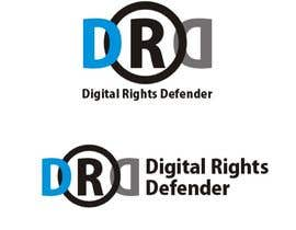 Kris0506 tarafından Design a Logo for Digital Rights Defender için no 30