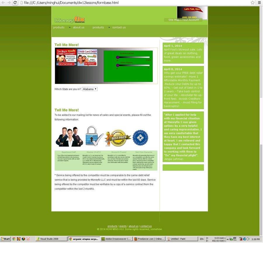 #17 for Design a Website PSD New design by minghui22000