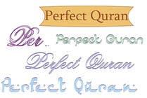 Graphic Design Inscrição do Concurso Nº371 para Logo Design for PerfectQuran