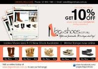 Graphic Design Inscrição do Concurso Nº108 para Brochure Design for Big On Shoes- Online Shoe Retailer
