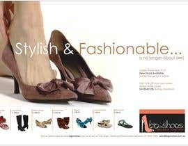 #54 untuk Brochure Design for Big On Shoes- Online Shoe Retailer oleh roopfargraphics