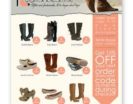 #34 for Brochure Design for Big On Shoes- Online Shoe Retailer by imaginativeGFX