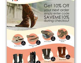 #116 untuk Brochure Design for Big On Shoes- Online Shoe Retailer oleh imaginativeGFX