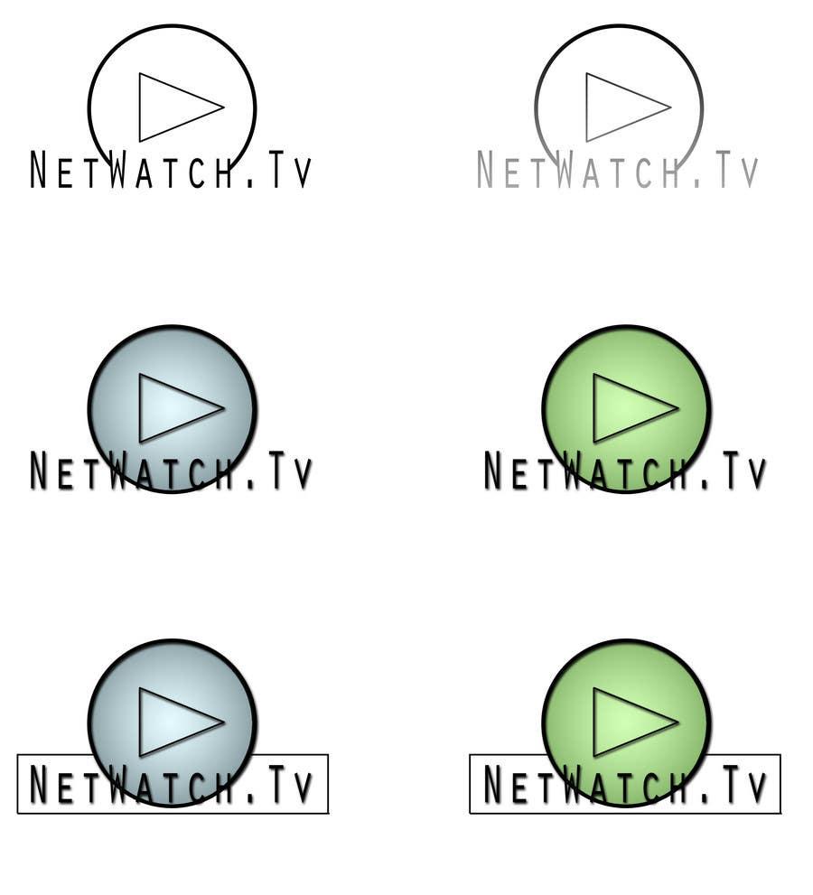 Inscrição nº 124 do Concurso para Logo Design for NetWatch.TV