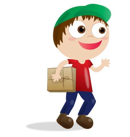 Inscrição nº 7 do Concurso para 2 vector cartoons of a young delivery boy