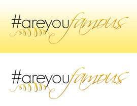 #15 for Design a Logo for #AreYouFamous af Maragones