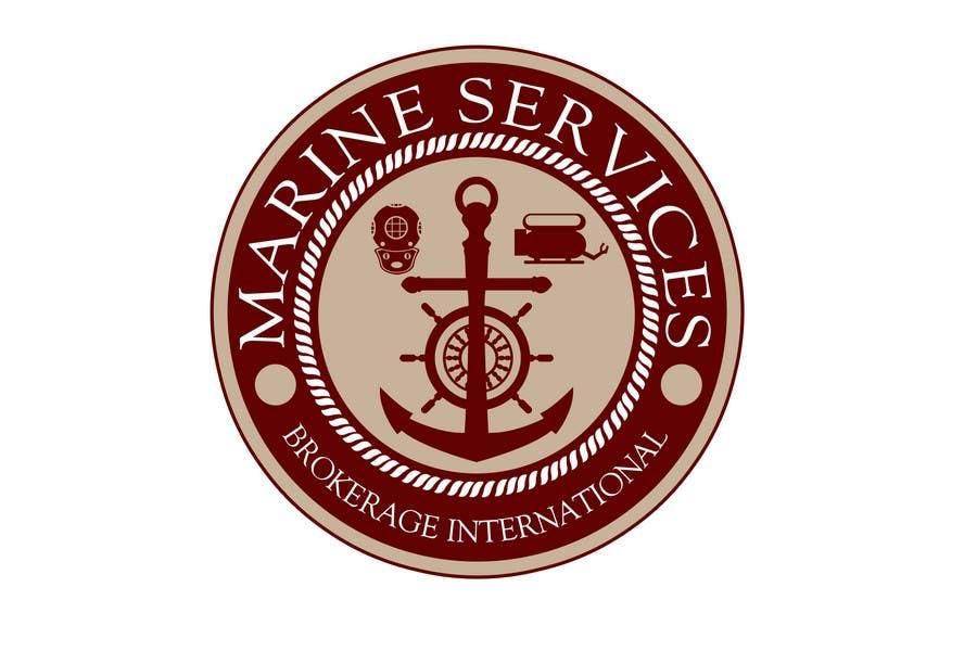 Inscrição nº                                         67                                      do Concurso para                                         Logo Design for Marine Services Brokerage International