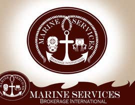 #57 untuk Logo Design for Marine Services Brokerage International oleh rogeliobello