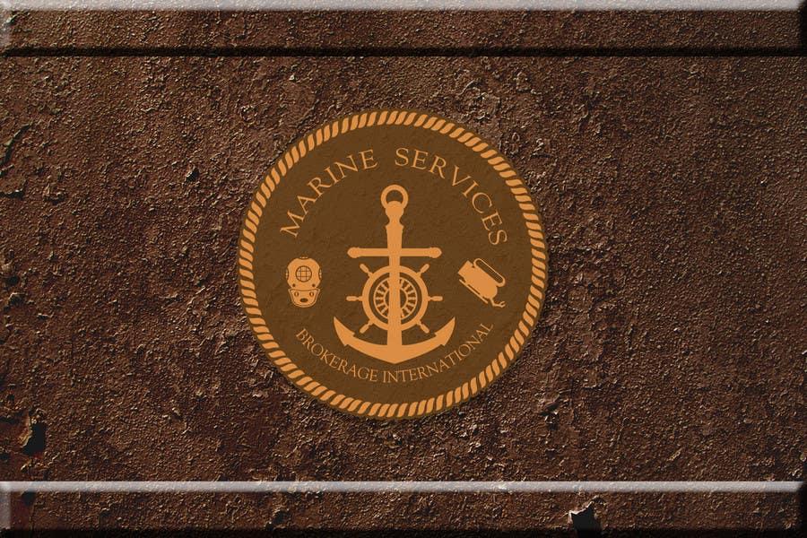 Inscrição nº                                         103                                      do Concurso para                                         Logo Design for Marine Services Brokerage International