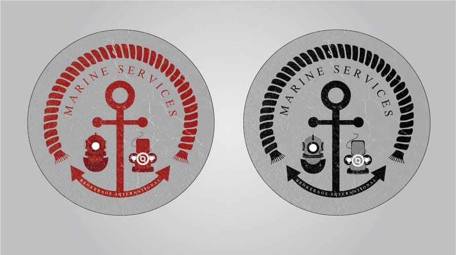 Inscrição nº                                         45                                      do Concurso para                                         Logo Design for Marine Services Brokerage International