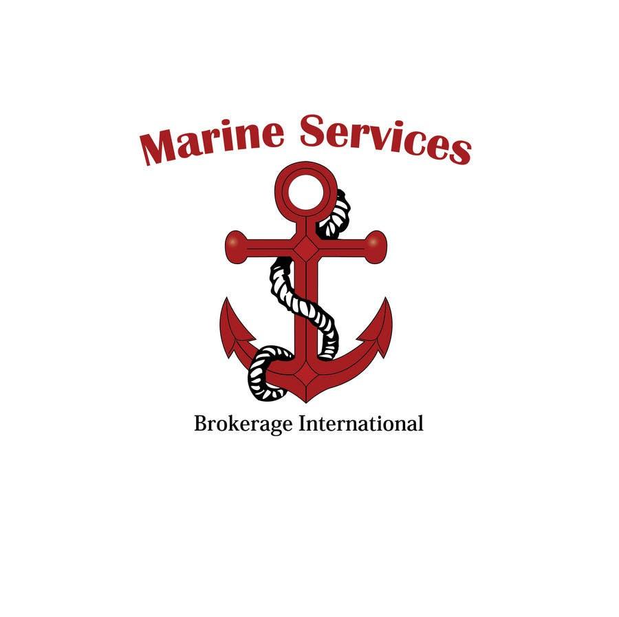 Inscrição nº                                         39                                      do Concurso para                                         Logo Design for Marine Services Brokerage International