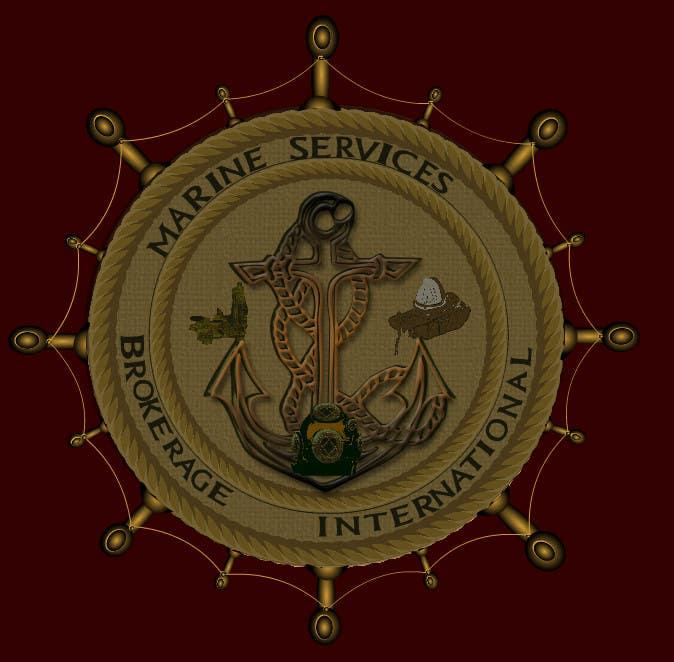 Inscrição nº                                         111                                      do Concurso para                                         Logo Design for Marine Services Brokerage International