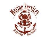 Graphic Design Inscrição do Concurso Nº13 para Logo Design for Marine Services Brokerage International