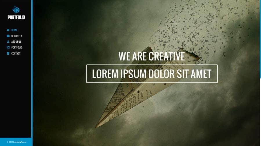 #6 for Design a Website Mockup for Portfolio by OperatorMyszki