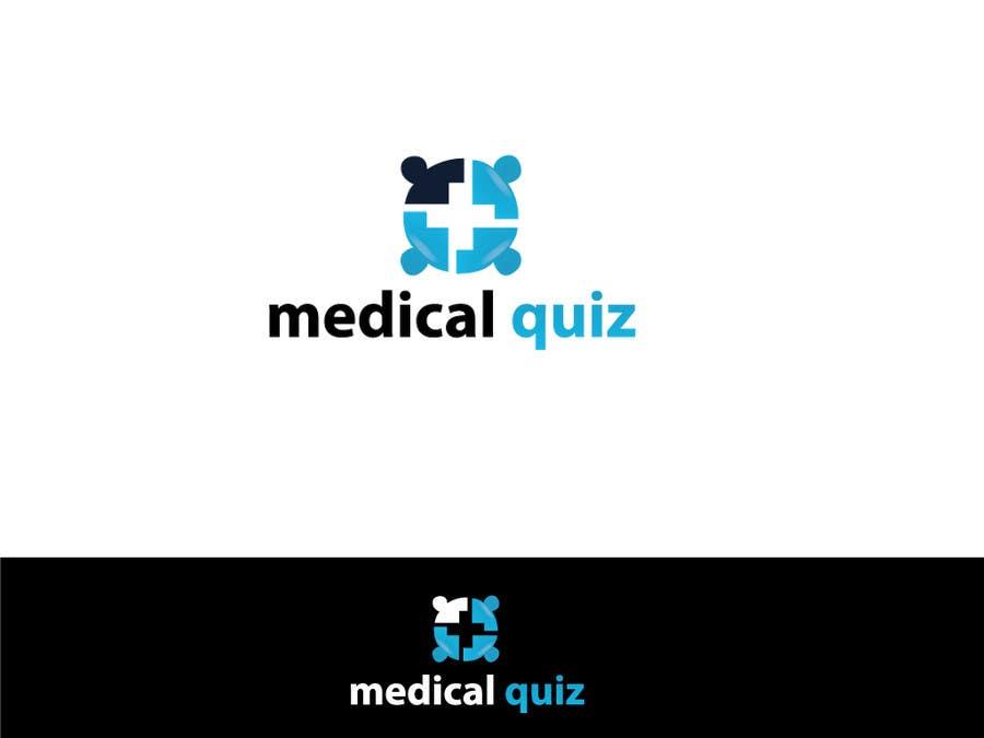 Entry #19 by rahim420 for Logo for a medical quiz site   Freelancer