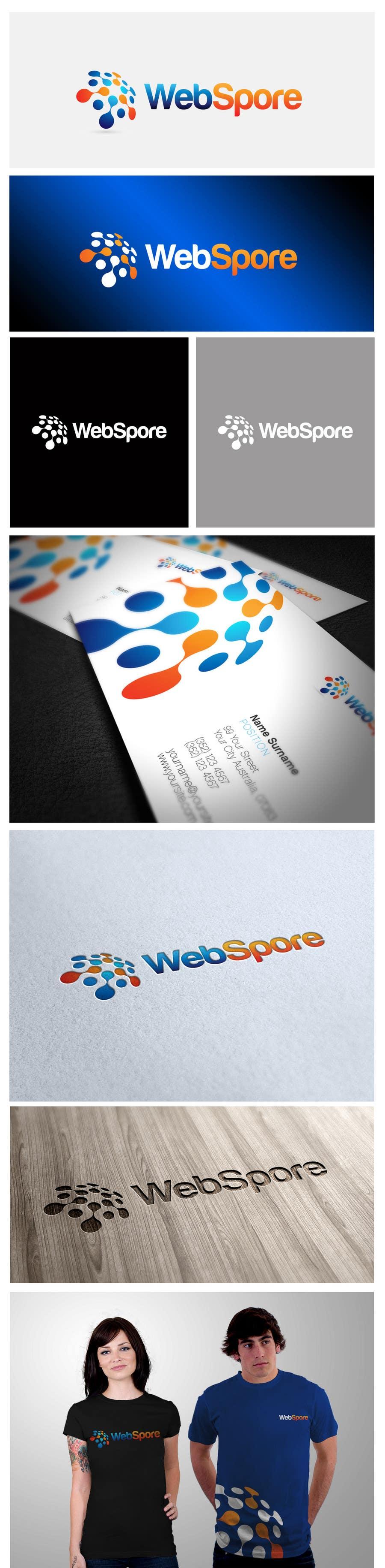 Proposition n°67 du concours Logo Design for WebSpore LLC