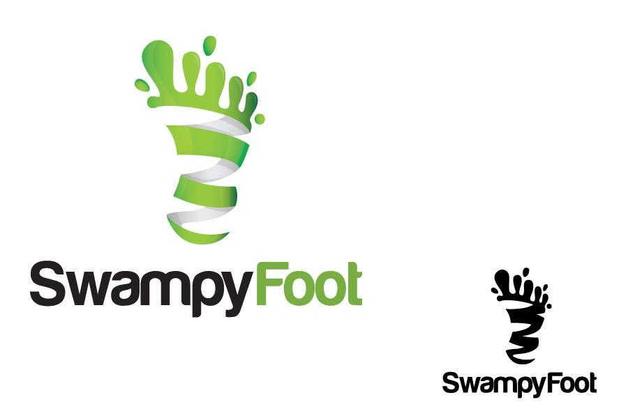 Kilpailutyö #229 kilpailussa Logo Design for SwampyFoot