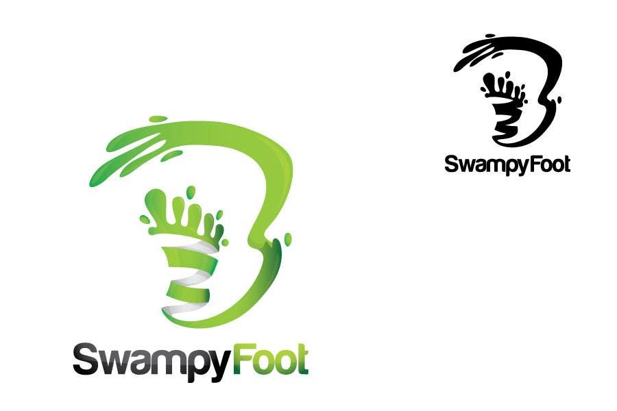 Kilpailutyö #318 kilpailussa Logo Design for SwampyFoot