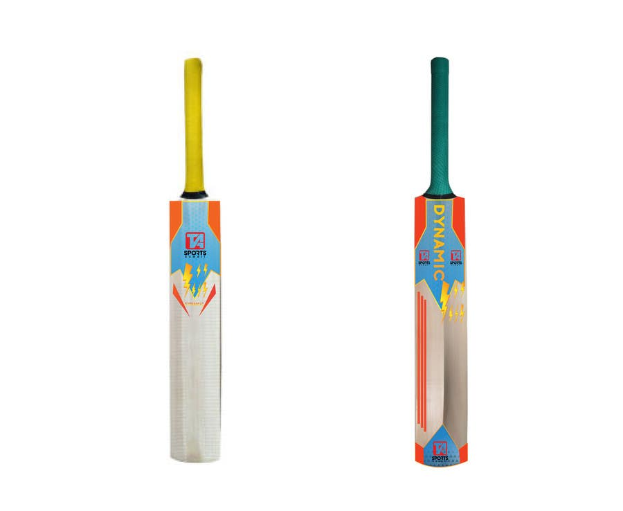 Entry 13 By Omitdatta For Design Cricket Bat Sticker Sets Freelancer