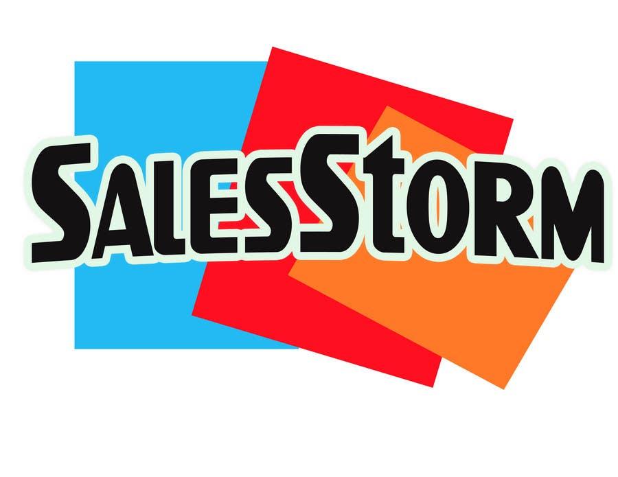 Entri Kontes #54 untukLogo Design for SalesStorm