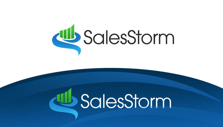 #168 for Logo Design for SalesStorm by pinky