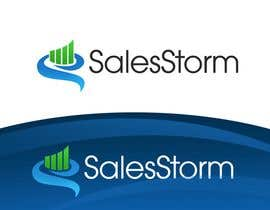 #168 för Logo Design for SalesStorm av pinky