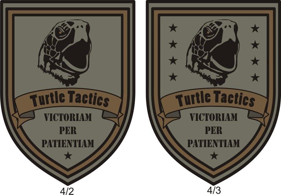 Penyertaan Peraduan #                                        10                                      untuk                                         Design a military patch