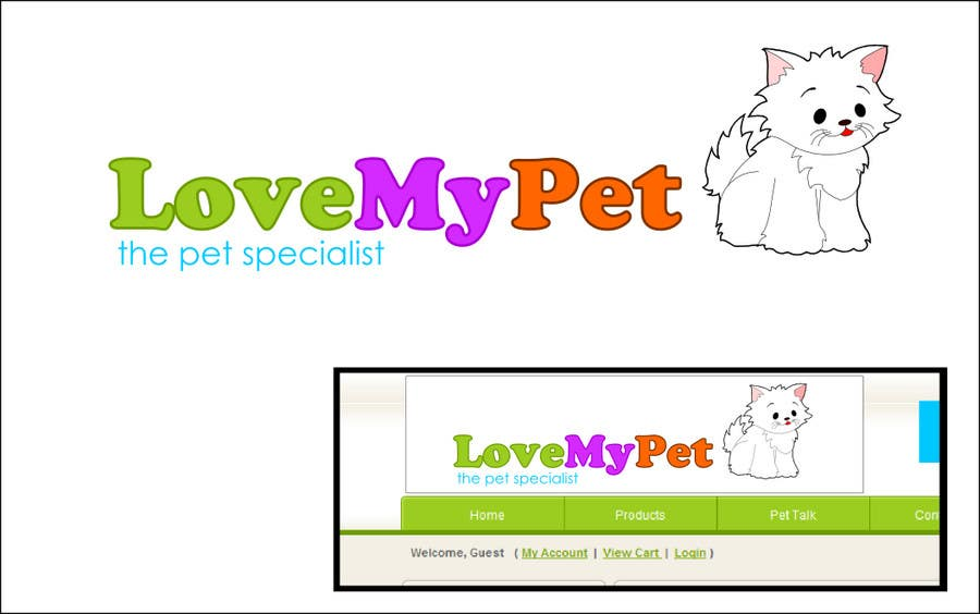 Contest Entry #32 for Logo Design for Love My Pet
