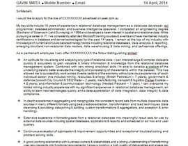 reejuminvrt tarafından CV Re-format (NOT FULL REWITE) için no 11