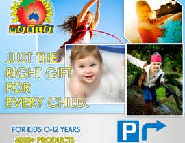 nº 52 pour Banner Ad Design for Early Learning World UPDATED par pratik12691