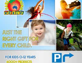 nº 51 pour Banner Ad Design for Early Learning World UPDATED par pratik12691