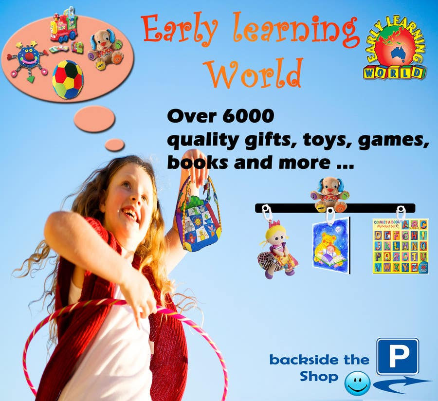 Proposition n°                                        47                                      du concours                                         Banner Ad Design for Early Learning World UPDATED