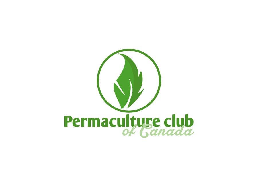 Penyertaan Peraduan #                                        29                                      untuk                                         Design a Logo for Permaculture Club of Canada