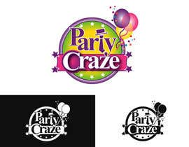 #65 untuk Logo Design for Party Craze.com.au oleh odingreen