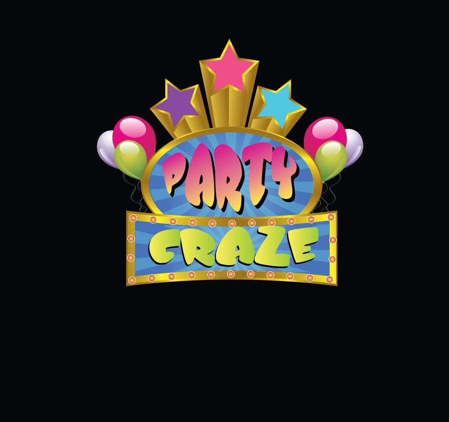 Bài tham dự cuộc thi #136 cho Logo Design for Party Craze.com.au