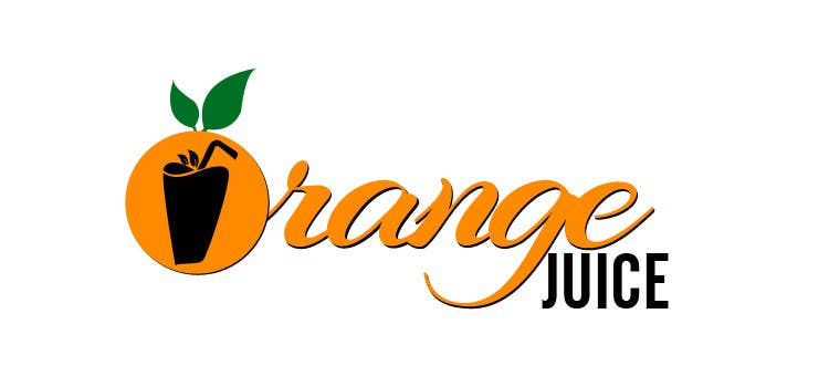entry 8 by harmonyinfotech for design a logo for orange juice label rh freelancer com