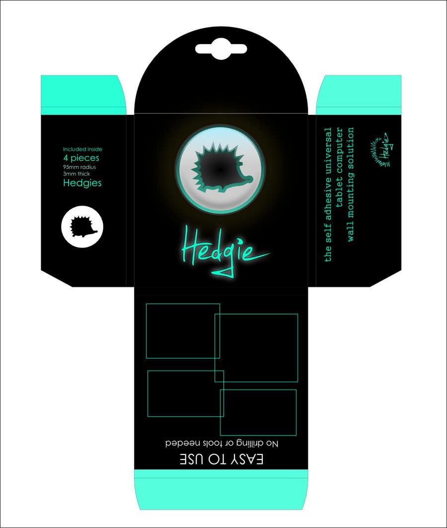 Kilpailutyö #                                        14                                      kilpailussa                                         Graphic Design for Hedgie packaging (Hedgie.net)