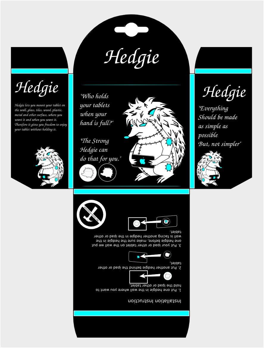 Конкурсная заявка №12 для Graphic Design for Hedgie packaging (Hedgie.net)