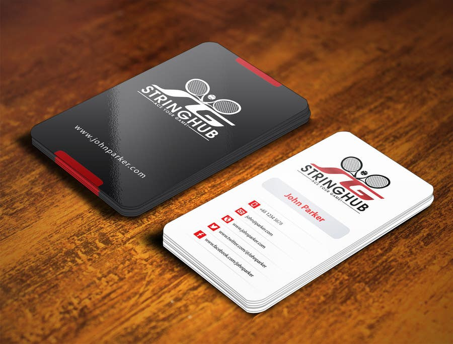 Entry #86 by mamun313 for Design some Business Cards for Tennis Shop ...