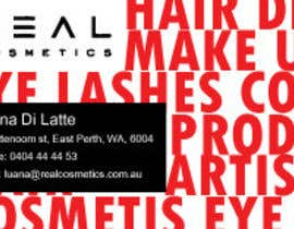 #14 for Business Card Design for Real Cosmetics by alekrjk