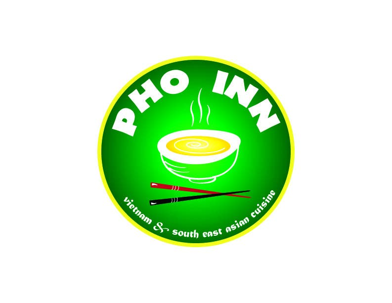 """Contest Entry #73 for Logo (for website, restaraunt front and uniforms) and Menu Design for """"PhoInn"""""""
