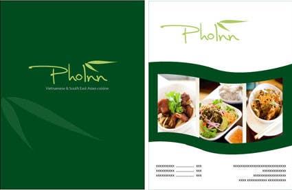 """Inscrição nº 54 do Concurso para Logo (for website, restaraunt front and uniforms) and Menu Design for """"PhoInn"""""""