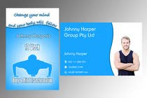 #27 for Business Card Design for Johnny Harper's 12 Week Body & Mind Transformation by lihia