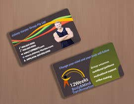 #29 for Business Card Design for Johnny Harper's 12 Week Body & Mind Transformation af pbgrfx