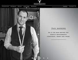 succinct tarafından Design a Website Mockup for a stylish bespoke fashion brand için no 58