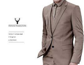 succinct tarafından Design a Website Mockup for a stylish bespoke fashion brand için no 69