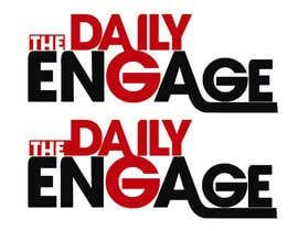 #121 para Design a Logo for The Daily Engage por cbayuelo